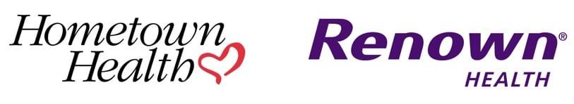 Hometown Health & Renown Health logos