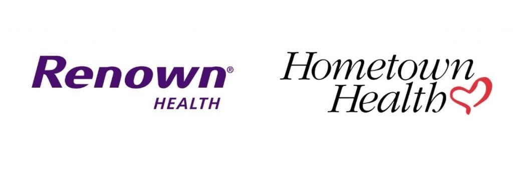 renown and hometown health logos